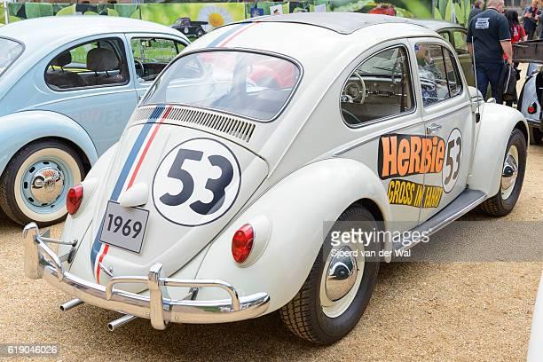 """herbie volkswagen beetle or vw bug movie car - """"sjoerd van der wal"""" fotografías e imágenes de stock"""