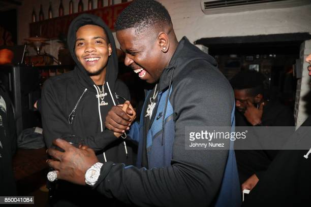 G Herbo and Casanova Attend The G Herbo Album Listening Party on September 19 2017 in New York City