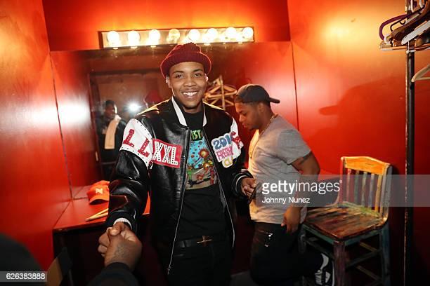 Herbo backstage at SOB's on November 28 2016 in New York City