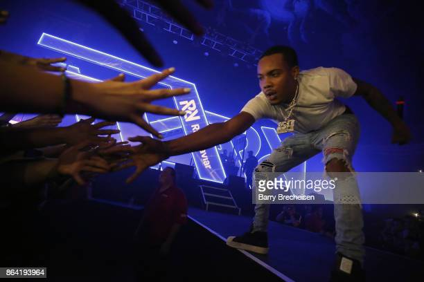 Herbo performs at Spotify's RapCaviar Live in Chicago at Aragon Ballroom on October 20 2017 in Chicago Illinois
