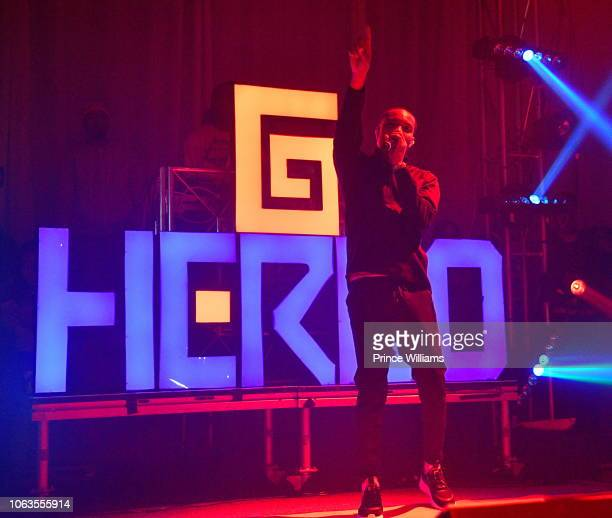 Herbo performs attends Swervo Tour G Herbo at The Masquerade on October 30 2018 in Atlanta Georgia