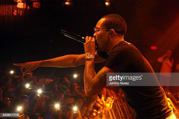 Herbo performs during The Smokers Club concert event at Crosby Hotel on July 9 2016 in New York City