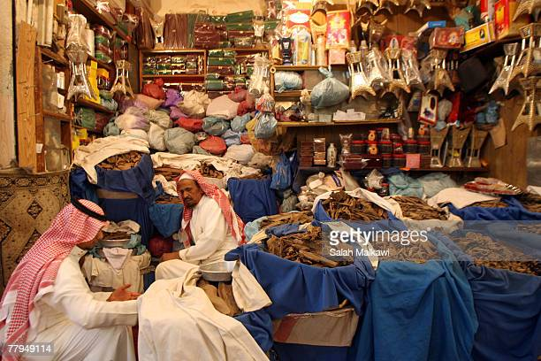 Herbs and spices are sold at the Souk alZal market on Friday November 16 2007 in Saudi Arabia Saudi Arabia hosts the Third OPEC Heads of States...