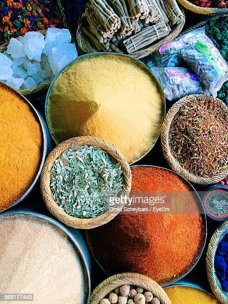 Herbs and spices for sale