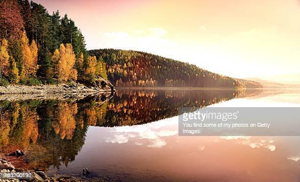 Herbst im Erzgebirge Sachsen