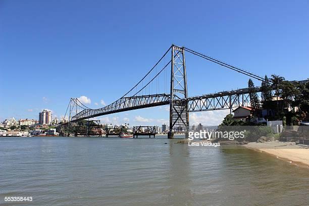 Hercílio Luz Bridge - Florianopolis - Santa Catari