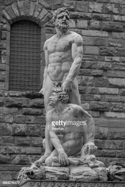 hercules and cacus - hercules stock pictures, royalty-free photos & images