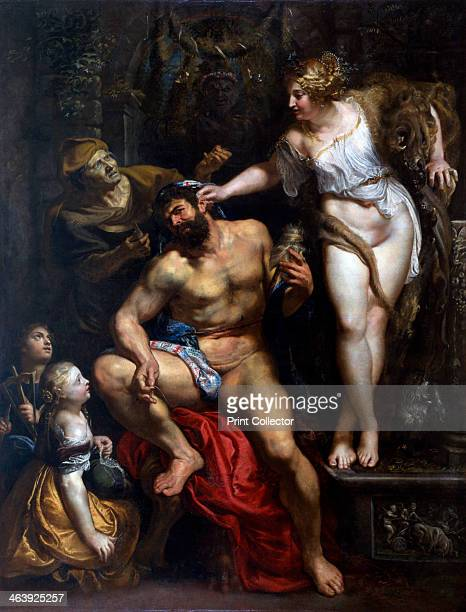 'Hercules and Omphale' 1606 From the collection of the Louvre Paris France