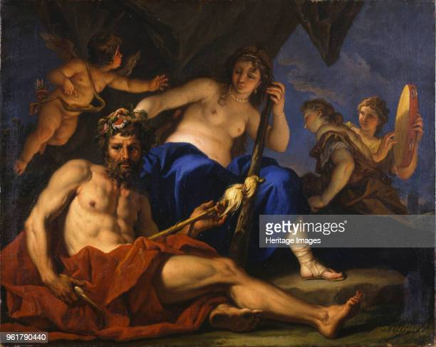 Hercules and Omphale 1701 Found in the Collection of Musée de Picardie Amiens
