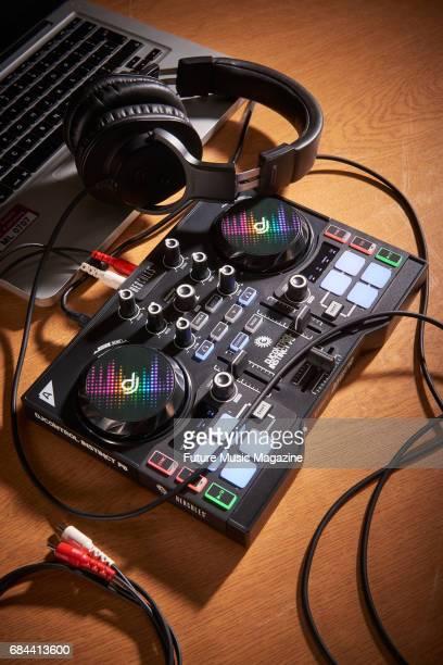 A Hercules DJ Control Instinct P8 twochannel controller taken on September 1 2016