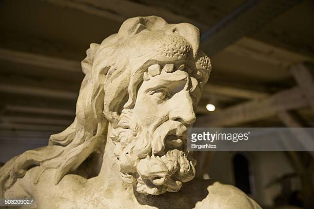 hercules in lapidarium of kings, copenhagen, denmark - hercules stock pictures, royalty-free photos & images