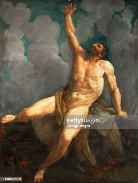 Hercules on the pyre 16201621 Found in the Collection of Musée du Louvre Paris Artist Reni Guido