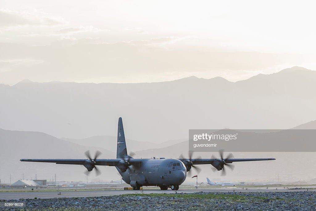 C-130 Hercules : Stock Photo