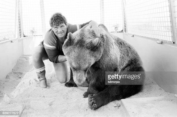 Hercules The Bear, tracked down and captured on the waste moorlands of North Uist, in the Outer Hebrides of Scotland. 14th September 1980. The Bear...