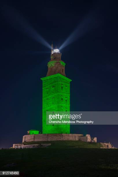 hercules tower - hercules stock pictures, royalty-free photos & images