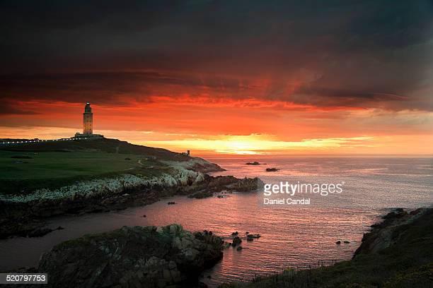 Hercules Tower Sunset
