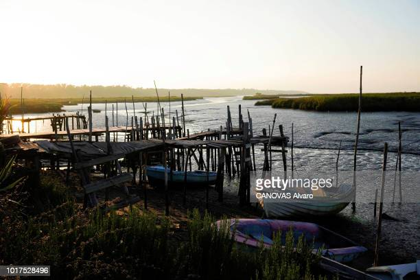 Herdade da Comporta refers to an area of 12500 hectares the old restored fishermen's huts of the former owner Espirito santo family the port is...