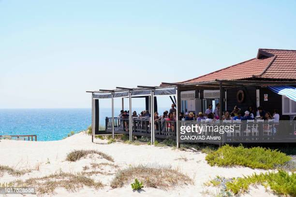 Herdade da Comporta refers to an area of 12500 hectares the old restored fishermen's huts of the former owner Espirito Santo Family the Sal...
