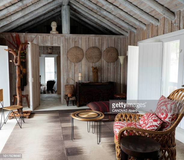 Herdade da Comporta refers to an area of 12500 hectares the old restored fishermen's huts of the former owner Espirito Santo family The Parisian...