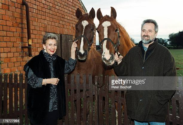 Herdis Zernial mit Ehemann Dr PeterZernial Pferden Tier Homestory Bremen