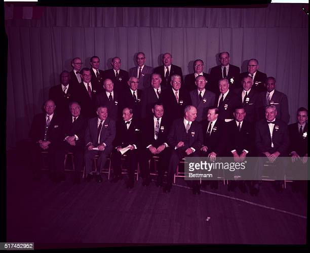 Here are the men who as members of the AFLCIO Executive Council rule the destinies of some 16000 members of the merged American Federation of Labor...