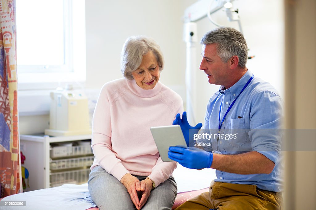 'Here are your results...' : Stock Photo