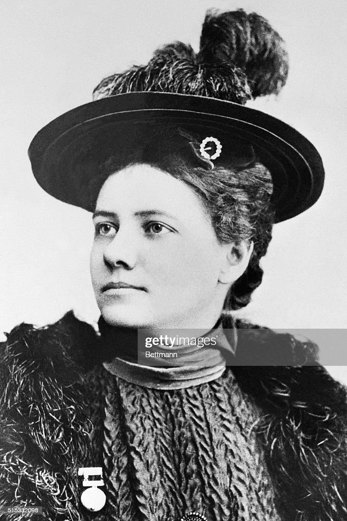 Journalist and Traveler Nellie Bly : News Photo