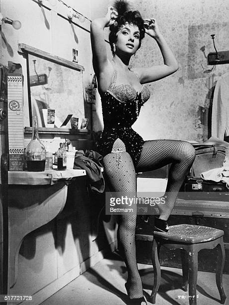 Here is Italy's Gina Lollobrigida one of the modern international screen queens who has made the most impact all over the world Here she is dressed...