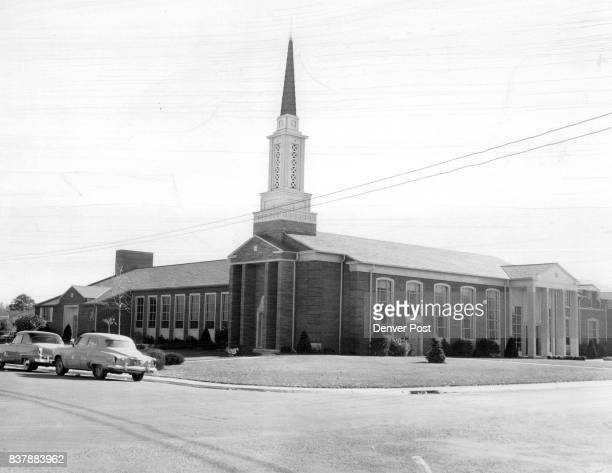 Here is one of the most beautiful churches in Denver the Church of Jesus Christ of Latter Day Saints at Hudson St and Severn PI which combines rare...