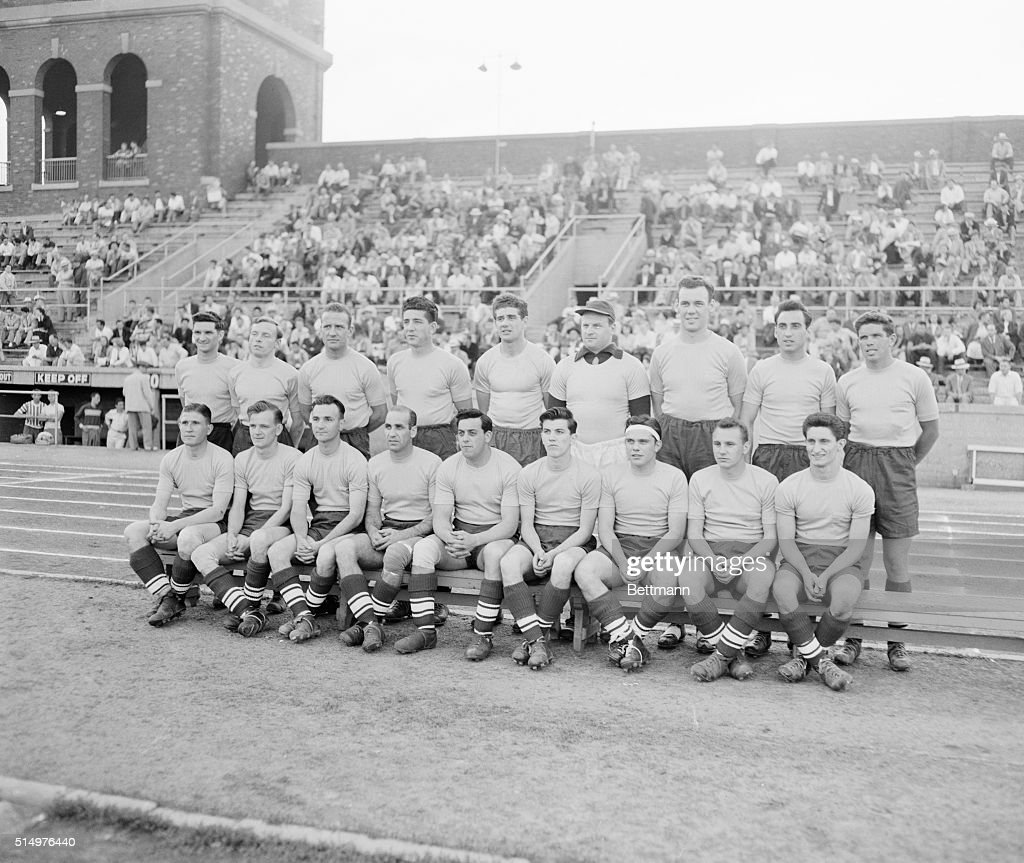 Portrait of the United States All Stars of Nineteen Fifty : News Photo