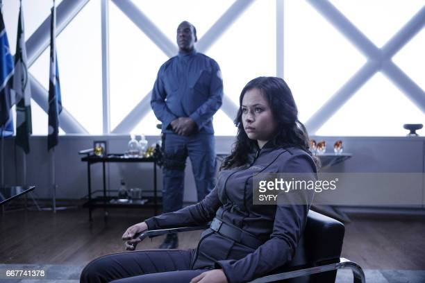 THE EXPANSE Here There Be Dragons Episode 211 Pictured Frankie Adams as Bobbie Draper