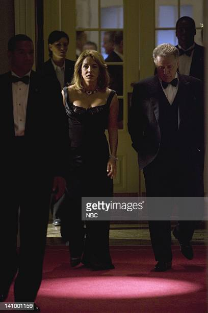 WING 'Here Today' Episode 5 Aired 10/23/05 Pictured Stockard Channing as Abbey Bartlet Martin Sheen as President Josiah 'Jed' Bartlet Photo by Chris...