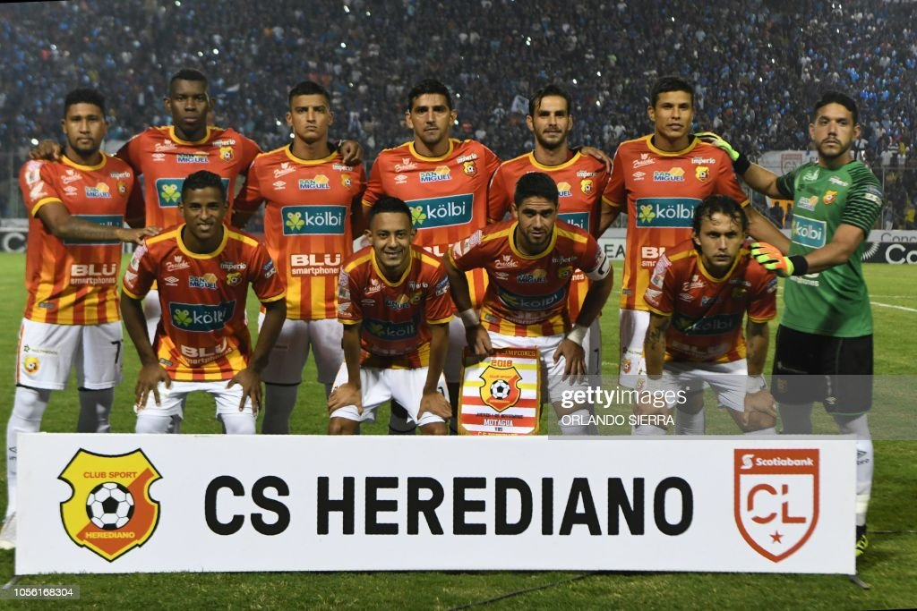 FBL-CONCACAF-HEREDIANO-MOTAGUA : News Photo