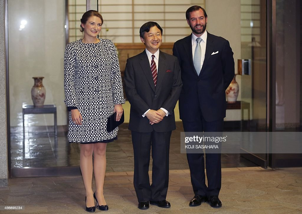 JAPAN-LUXEMBOURG-DIPLOMACY : News Photo