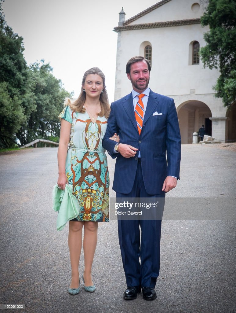 Christening Of Princess Amalia Of Luxembourg In Lorgues : News Photo