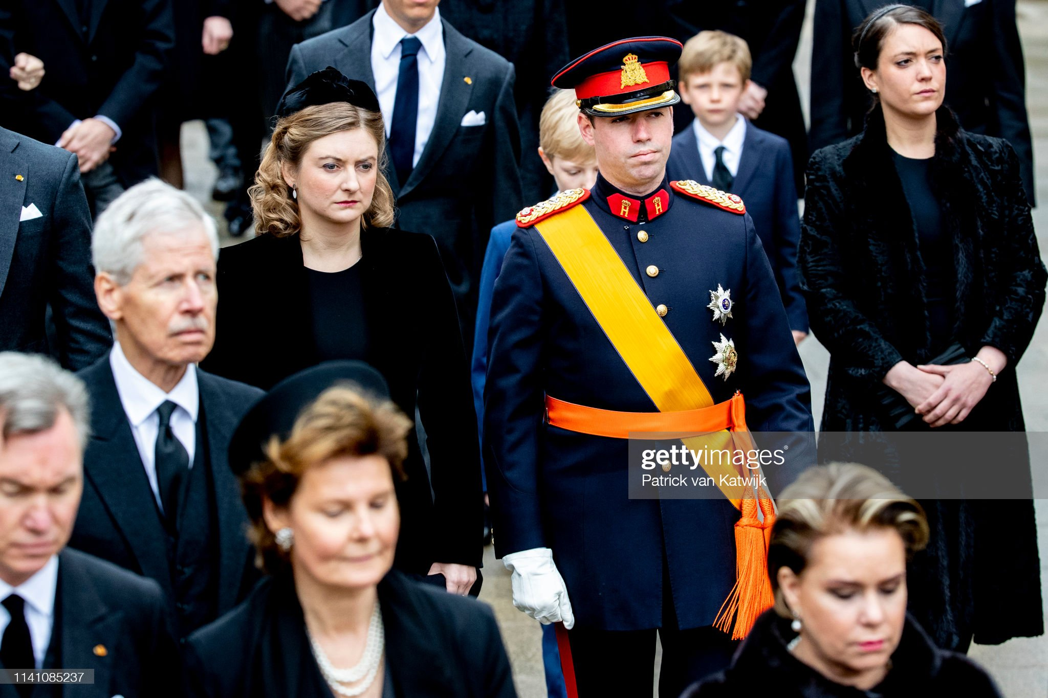 Похороны Великого Герцога Жана https://media.gettyimages.com/photos/hereditary-grand-duke-guillaume-of-luxembourg-and-hereditary-grand-picture-id1141085237?s=2048x2048
