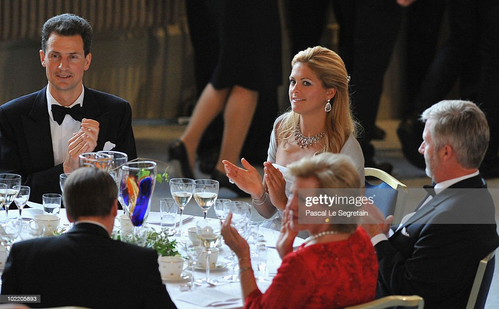 Crown Princess Victoria & Daniel Westling: Pre Wedding Dinner - Inside