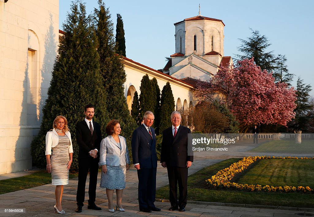 The Prince Of Wales And The Duchess Of Cornwall Visit Serbia : News Photo