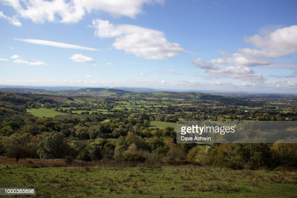herefordshire from malvern hills - dave ashwin stock pictures, royalty-free photos & images