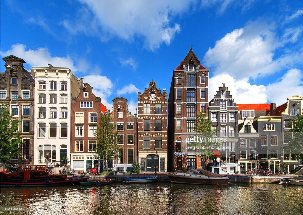 Herengracht Canal : Foto de stock