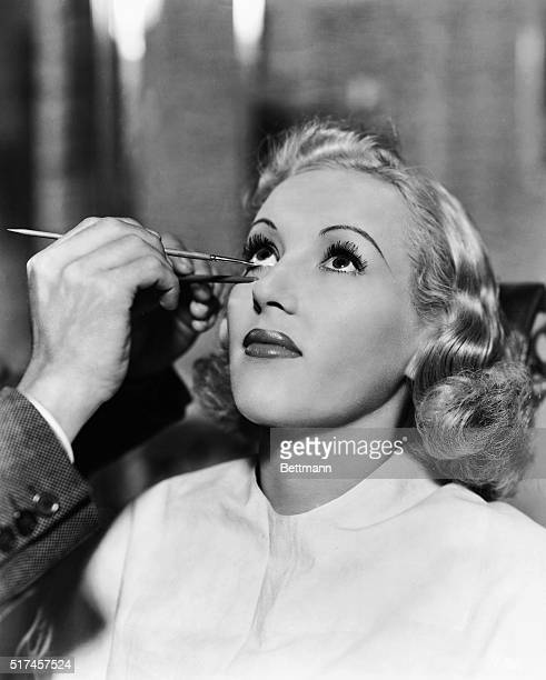 Here's a Beauty Scoop For those in pursuit of glamour according to the Hollywood recipe Betty Grable in Paramount's College Swing is steady while...