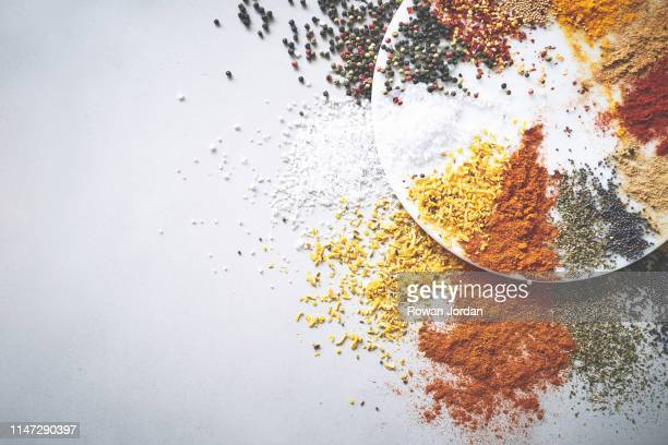 here's a few spices you need in your cabinet! - spice stock pictures, royalty-free photos & images