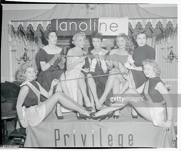 Here's how Lanolized Stockings were introduced to Parisiennes and Parisians too Hosiery treated with Lanolin which has been on the US market for some...