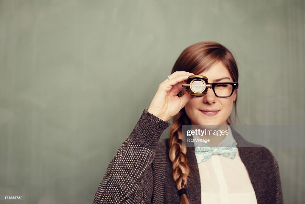 Here's Looking at You : Stock Photo