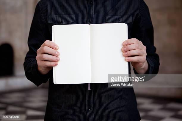 Here's my blank book