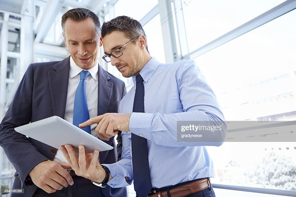 Here's my corporate idea : Stock Photo
