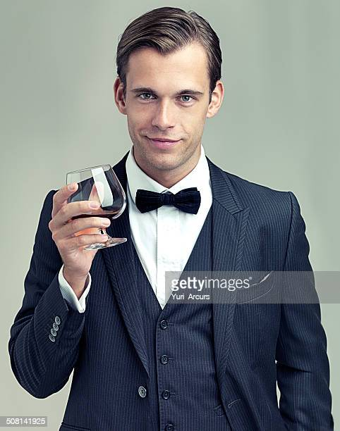 here's to frivolity - dinner jacket stock pictures, royalty-free photos & images