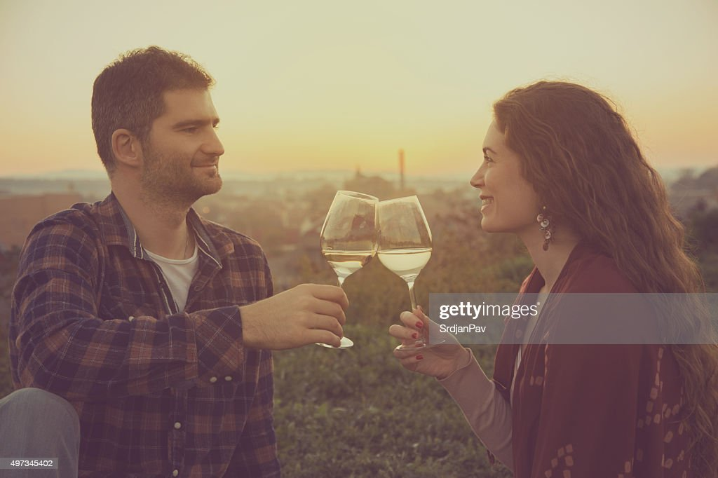 Here's To The Life We Love With Those We Love : Stock Photo