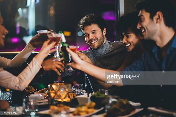 here's to the new year! - tapas stock photos and pictures