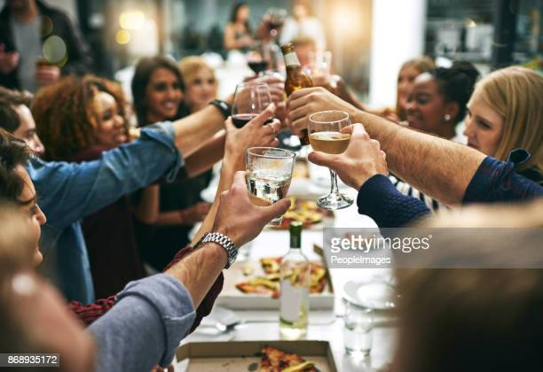 here's to tonight - evening meal stock pictures, royalty-free photos & images